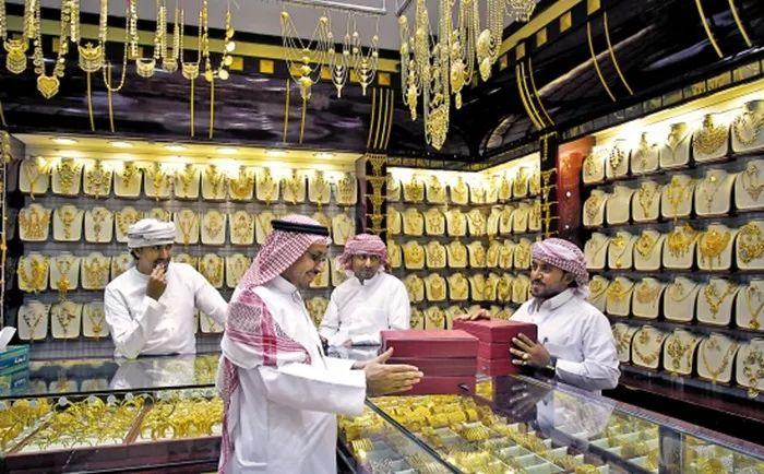 迪拜Gold Souk满眼尽在黄金街