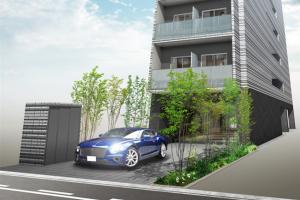 日本大阪心斋桥兰帕德公寓