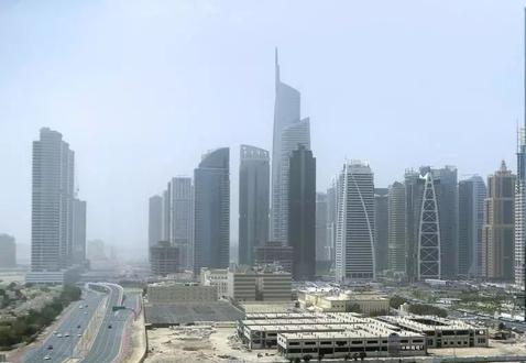 阿联酋迪拜JLT地区首个使用5G的地区